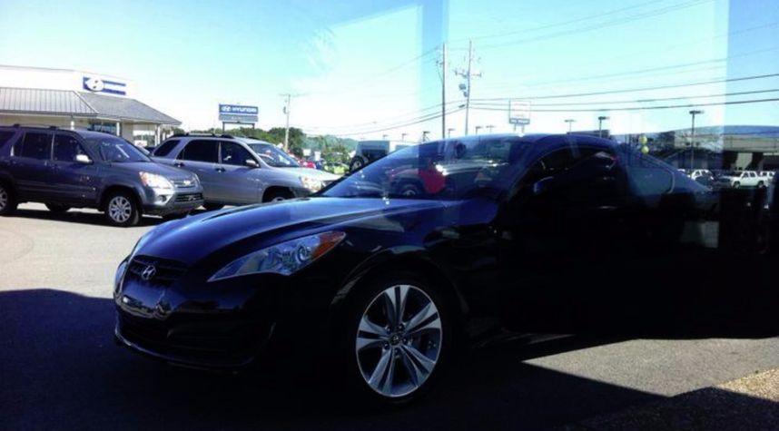 Main photo of Kevin Maradiaga's 2012 Hyundai Genesis Coupe