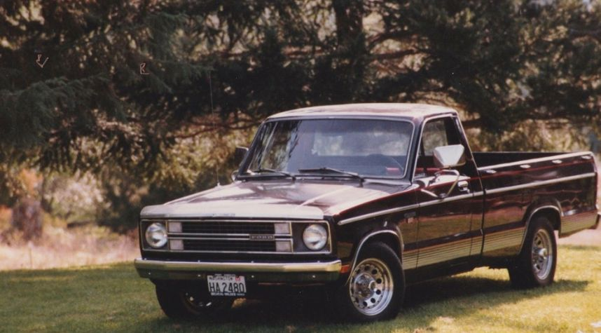 Main photo of Jerry Bourquin's 1981 Ford Courier