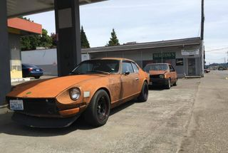homepage tile photo for Found a cool datsun today