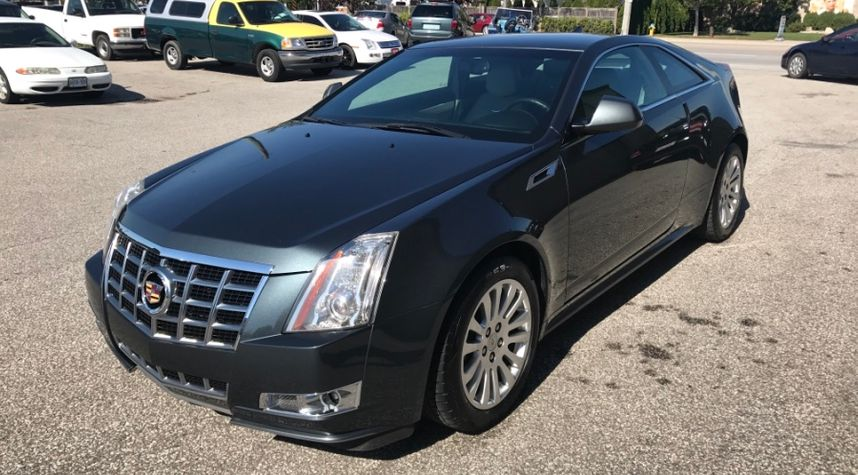Main photo of Daniel Jovanovski's 2012 Cadillac CTS Coupe