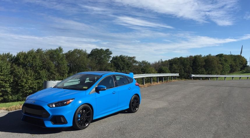 Main photo of Andrew Blackwood's 2016 Ford Focus RS