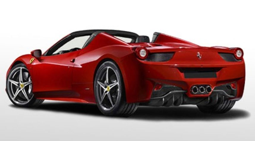 Main photo of Todd Crosland's 2014 Ferrari 458 Spider
