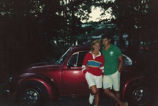"homepage tile photo for My ""modded"" 1973 Super Beetle back in the day (1987). Can't exactly..."
