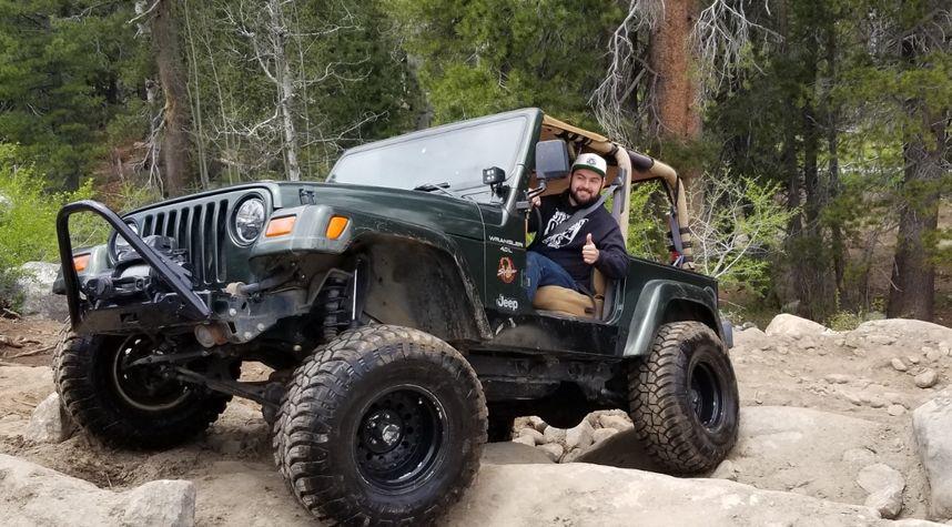 Main photo of Justin Homan's 1997 Jeep Wrangler