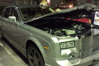 homepage tile photo for Someone swapped a Rolls-Royce with a 2JZ 🤔
