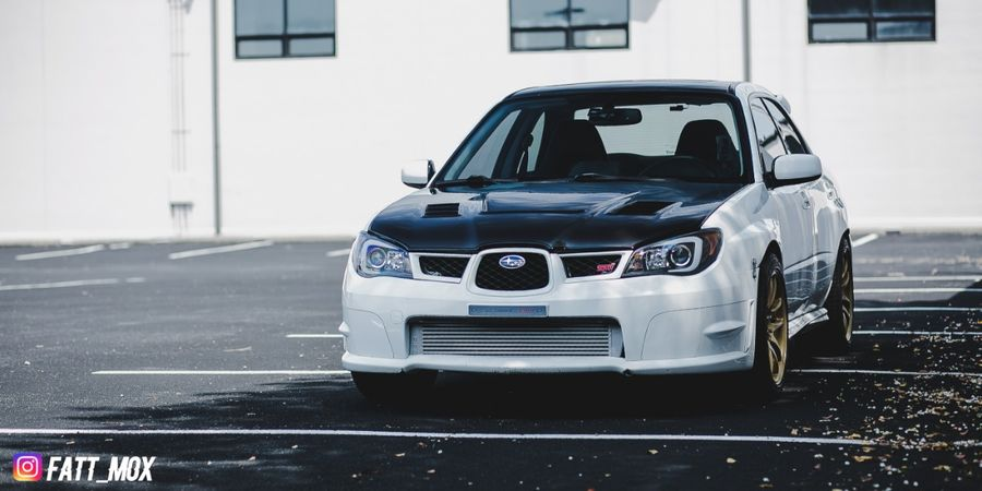 Dan Connors S 2006 Subaru Impreza Wrx On Wheelwell