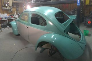 homepage tile photo for My current situation. My dads 1960 beetle. Once this is done...