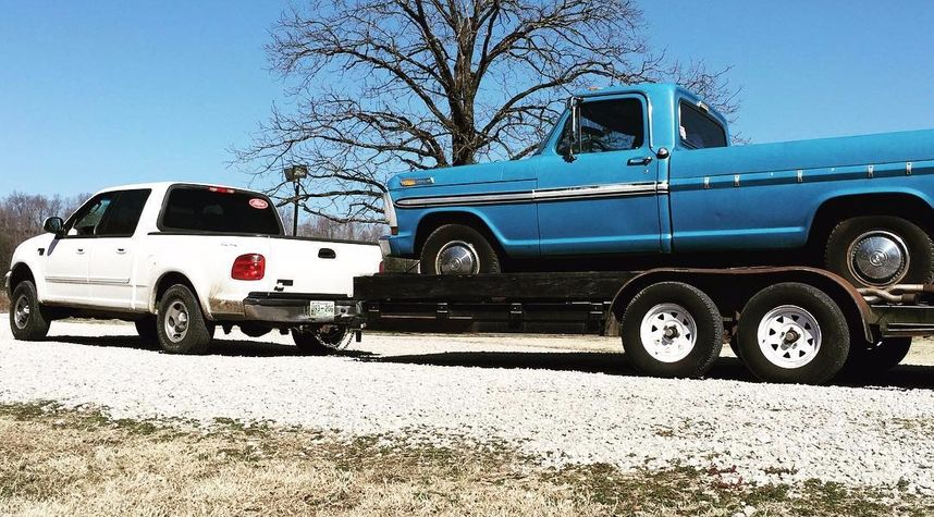 Main photo of Eric Pulley's 1972 Ford F100