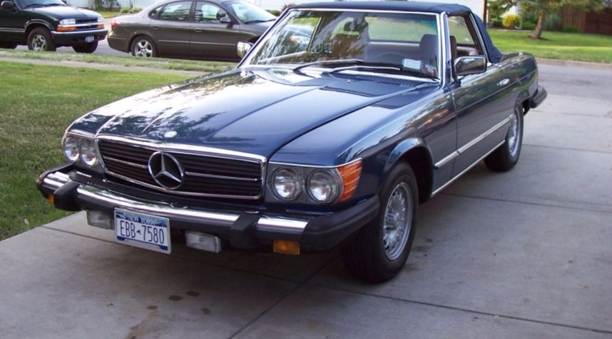 Main photo of Brian Ellis's 1980 Mercedes-Benz 450SL