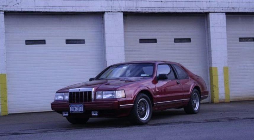 Main photo of Andrew Masterson's 1991 Lincoln Mark VII