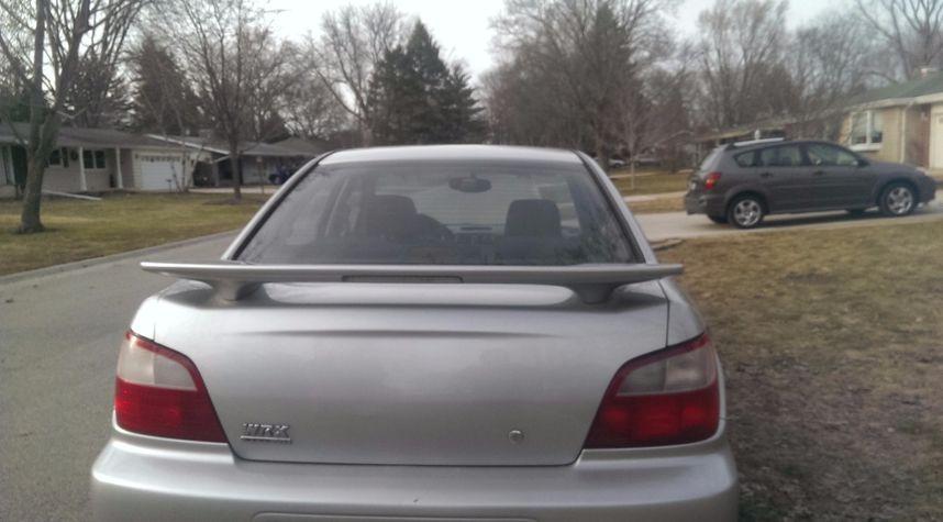 Main photo of Aurelijus Navikas's 2003 Subaru Impreza
