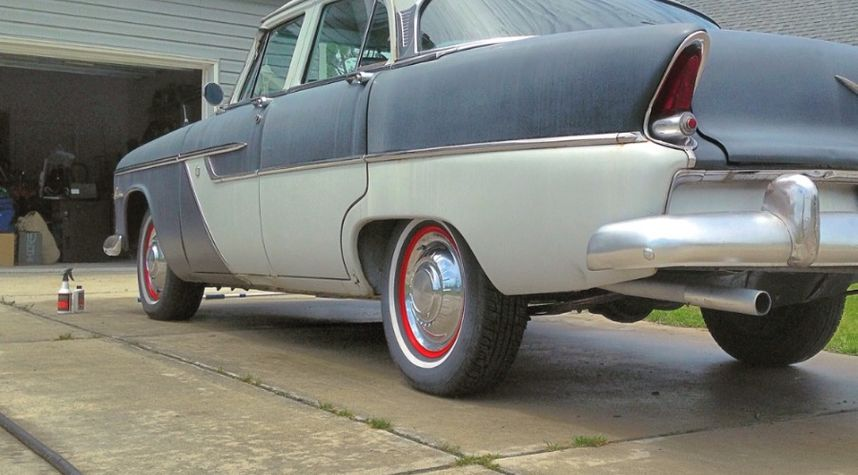 Main photo of Kyle Hammerle's 1955 Plymouth Belvedere