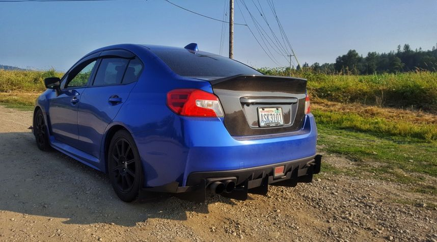 Main photo of Tyler Barney's 2015 Subaru WRX
