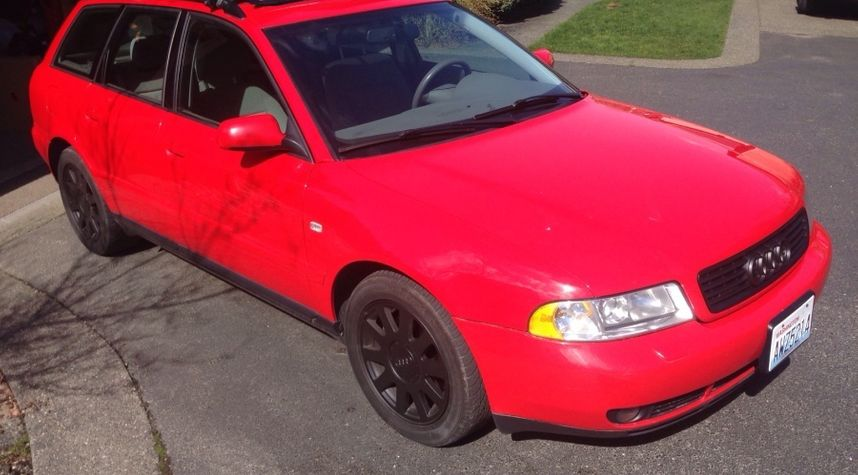 Main photo of Ben Van Veen's 2001 Audi A4