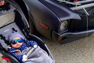 homepage tile photo for The nephew digs the car scene