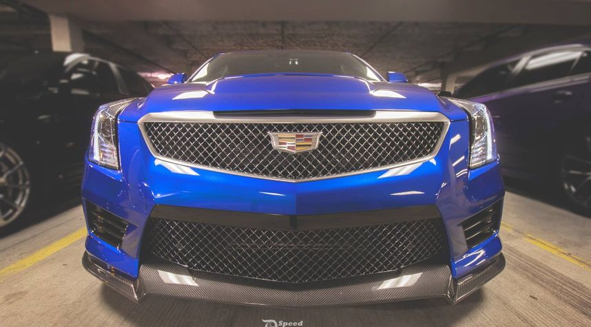 Main photo of Jason Chan's 2016 Cadillac ATS-V