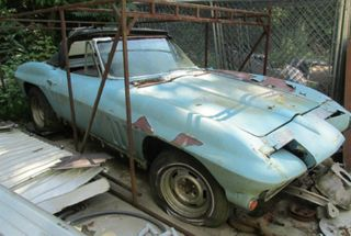 homepage tile photo for Don't let this happen.  Report Corvette abuse!