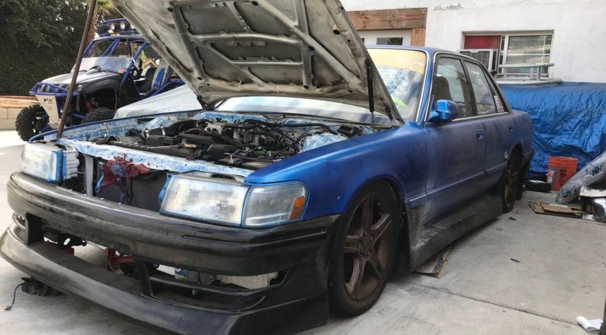 Main photo of Cameron Wilson's 1990 Toyota Cressida