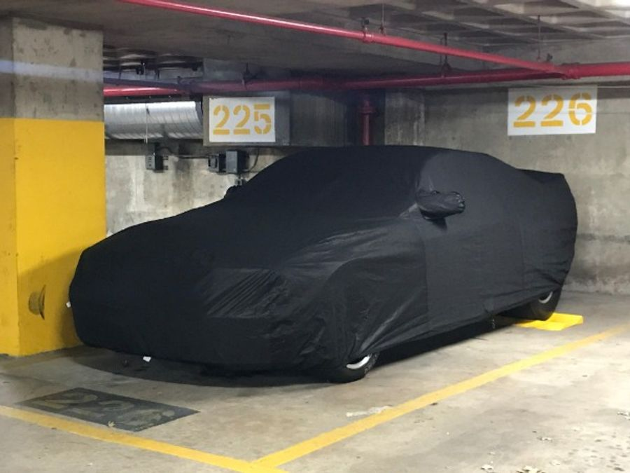 Covercraft Custom Fit Car Cover for Select Ford B Models Black Fleeced Satin FS13642F5