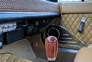 homepage tile photo for Reproduction Weighted Nardi Mahogany Shift knob