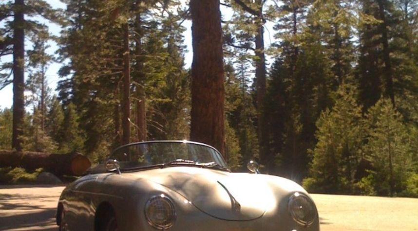 Main photo of Brian Holmes's 1957 Porsche 356