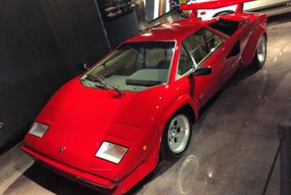 homepage tile photo for I work besides this beauty, 1985 Lamborghini Countach Quattrovalvole...
