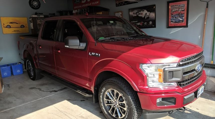 Main photo of Andrew Masterson's 2018 Ford F150
