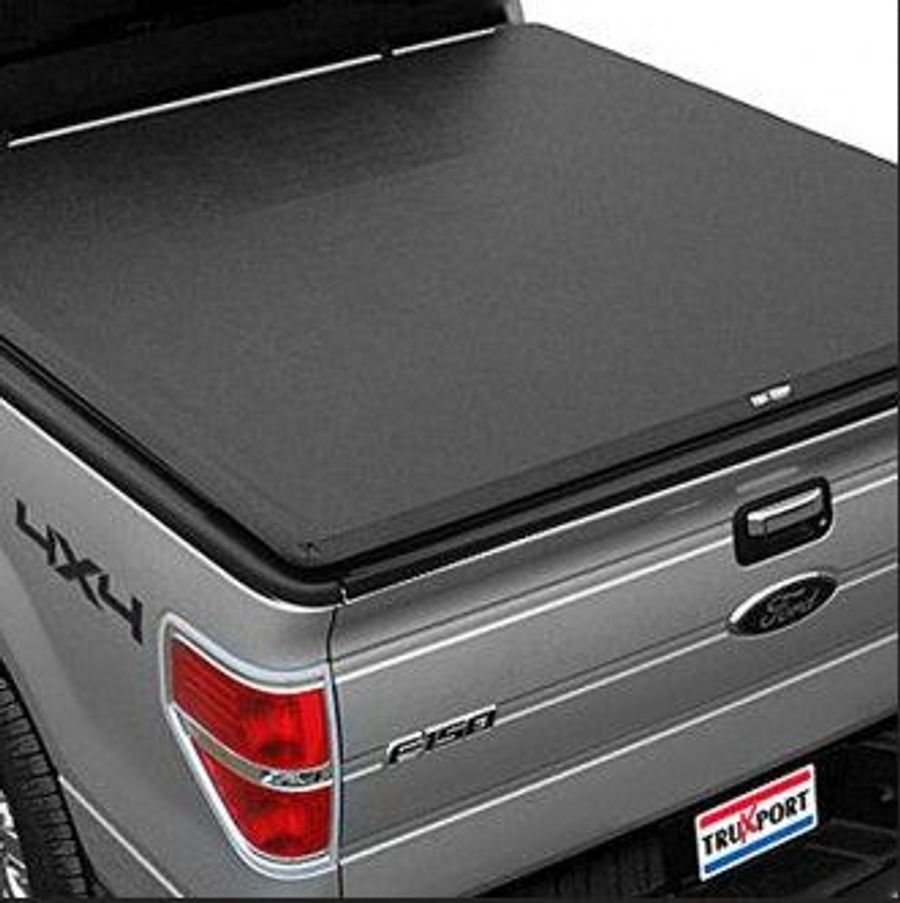 Truxedo 297601 Truxport Roll Up Tonneau Cover Installed On Adm Pr S Ford F 150 On Wheelwell