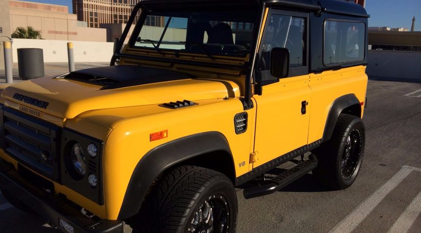 Main photo of Romi Mirza's 1994 Land Rover Defender