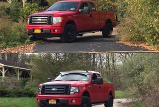 "homepage tile photo for Before and after a 2"" leveling kit. Love the new look!"