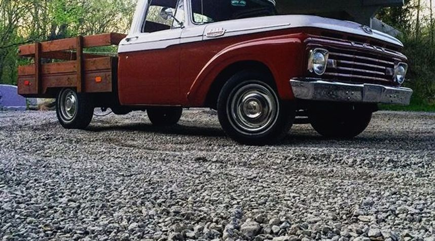 Main photo of Eric Pulley's 1963 Ford F100