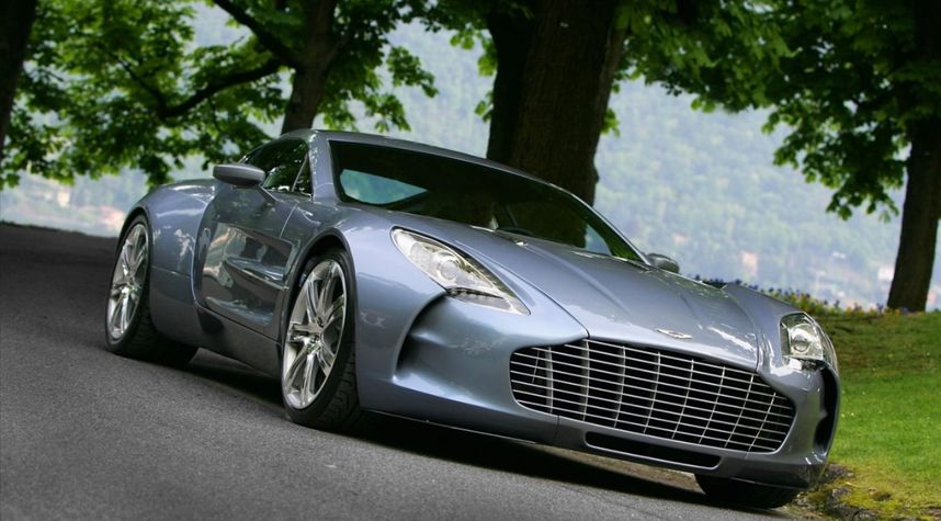 Main photo of Zach Huff's 2012 Aston Martin one-77
