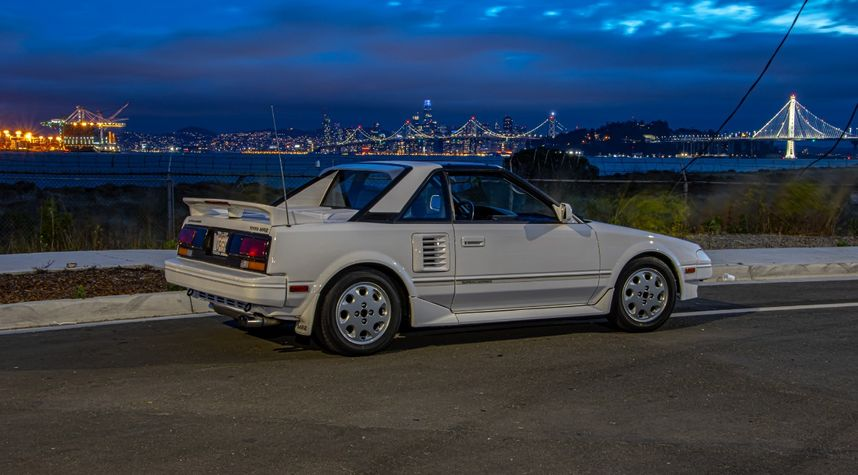 Main photo of Evan Brady's 1989 Toyota MR2
