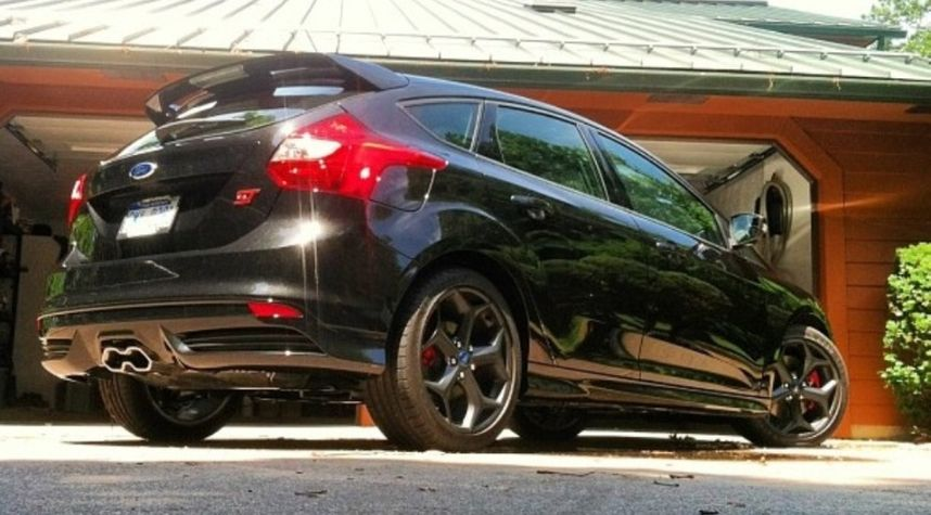 Main photo of Andy Sonnevil's 2014 Ford Focus ST