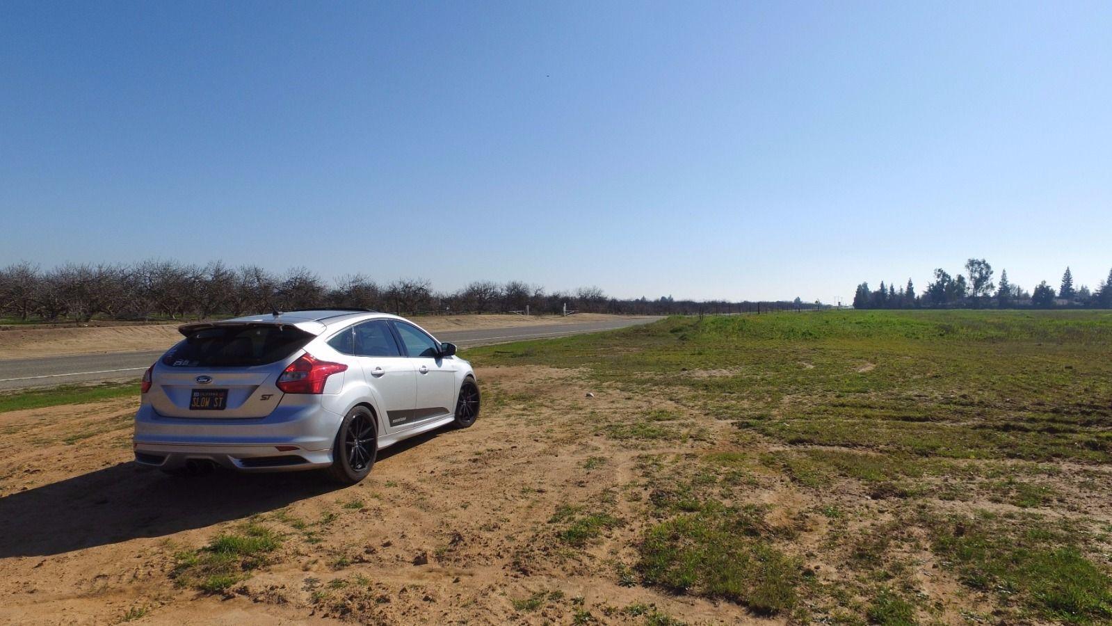 "MBRP 3/"" Black Air Intake Kit No Filter For Ford Focus ST 2.0L EcoBoost 2013-2015"