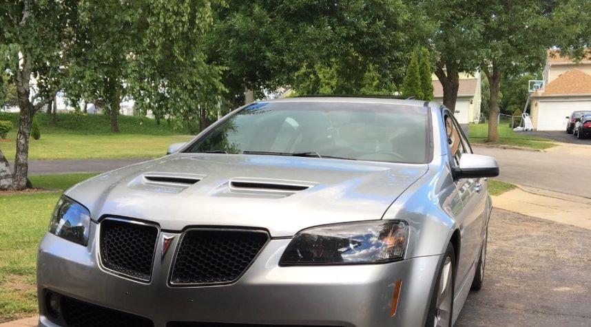 Main photo of Sergio Mendoza's 2009 Pontiac G8