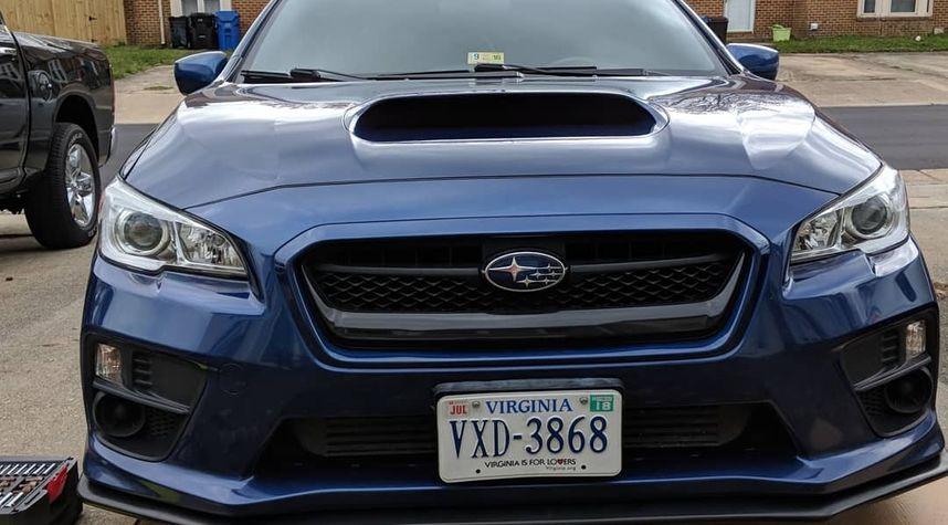 Main photo of AJ VanGorden's 2015 Subaru WRX