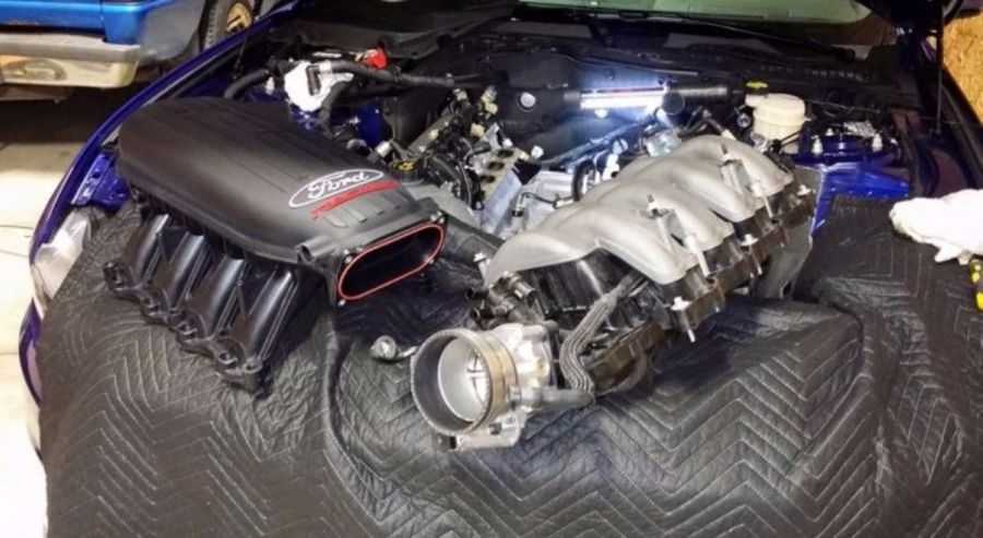 2015 Mustang Cobra >> Ford 2015 Mustang Cobra Jet Intake Install Intake Installed On