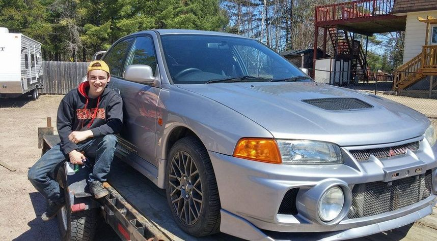 Main photo of David Kaiser's 1996 Mitsubishi Lancer Evolution