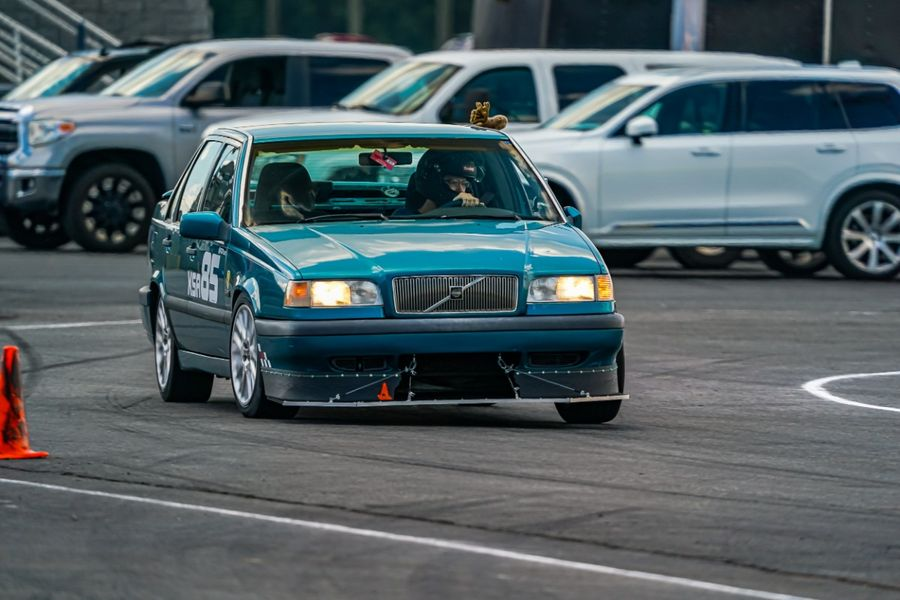 Luke Woessner S 1996 Volvo 850 On Wheelwell