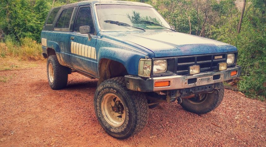 Main photo of Alex Georgopoulos's 1984 Toyota 4Runner