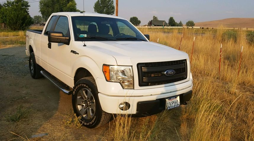 Main photo of Tyler Aseltine's 2013 Ford F-150