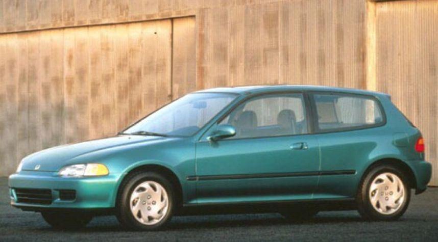 Main photo of Zach Kmetz's 1993 Honda Civic
