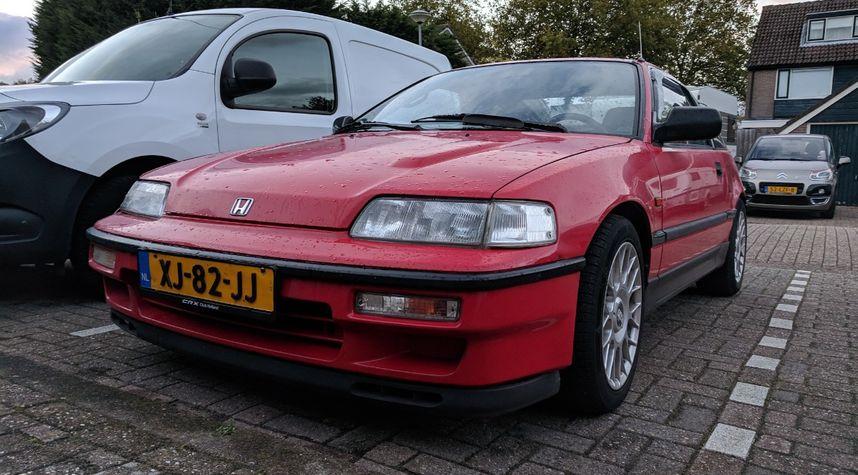 Main photo of Jelle Bakker's 1989 Honda CRX