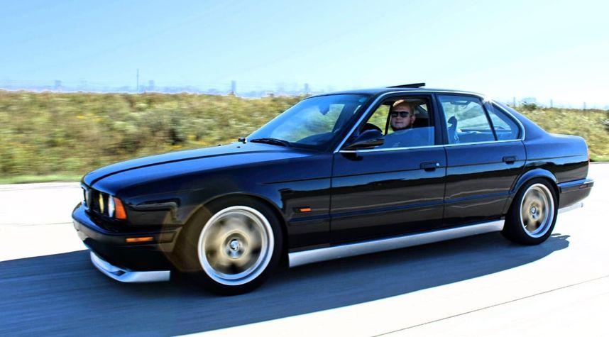 Main photo of Jeffrey Beran's 1995 BMW 540i