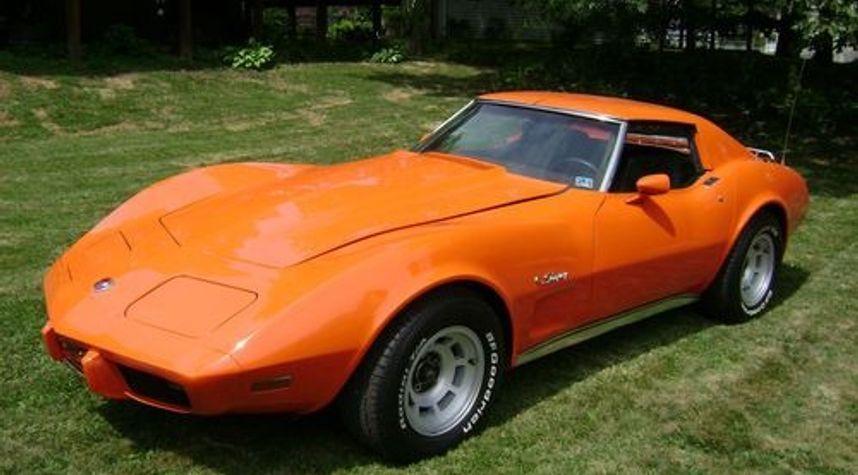 Main photo of Kevin Plain's 1976 Chevrolet Corvette