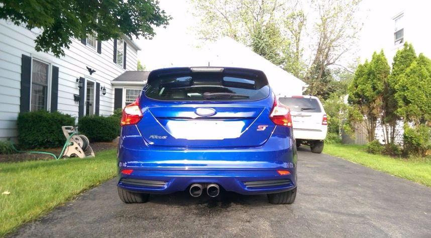 Main photo of Andrew Masterson's 2014 Ford Focus ST