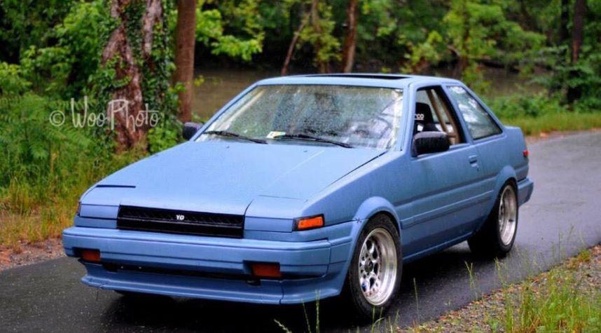 Main photo of Clayton Ashby's 1985 Toyota Corolla