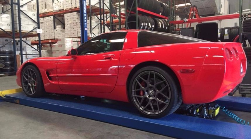 Main photo of The Smoking Tire's 1998 Chevrolet Corvette