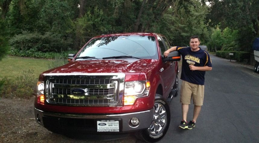 Main photo of Justin Clark's 2014 Ford F-150